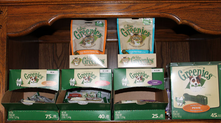 Greenies for healthy gums and teeth!